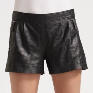 Juicy Couture Leather Shorts